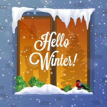 Winter And Snow Illustration