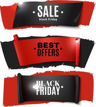 Black Friday Paper Banner Set