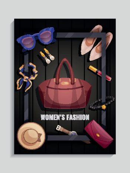 Women Accessories Poster