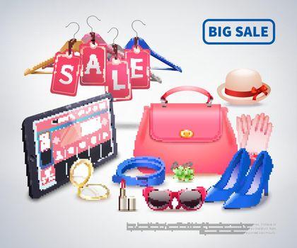 Big Sale Accessories Composition
