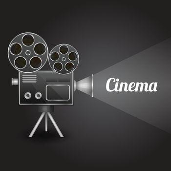 Cinema entertainment poster