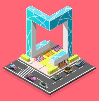 City Constructor Isometric Element