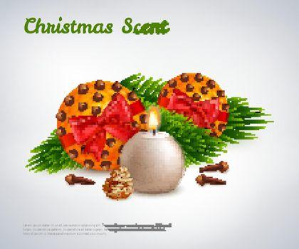 Christmas Scent Design Concept
