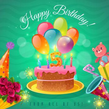 Celebration Birthday Poster