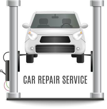 Car Lifting Platform Composition