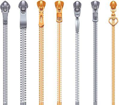 Zipper Collection Realistic Set