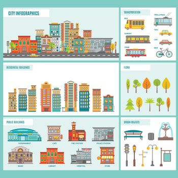 City Buildings Infographics