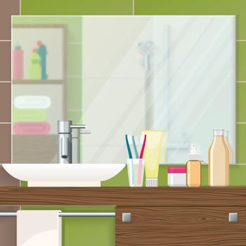 Bathroom Interior Closeup