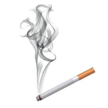 Cigarette Dark Smoke Background