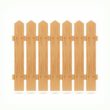 Wooden fence tile