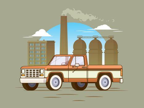Classic American Pickup Truck Concept