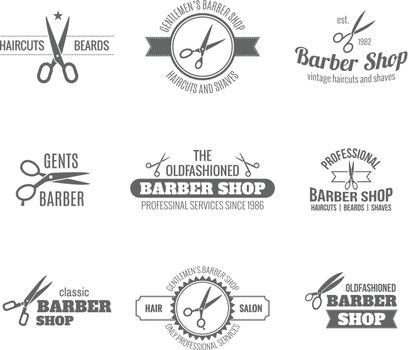 Barber Label Black