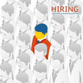 Choice person for hiring