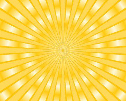 Yellow stripes background