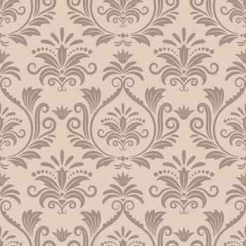 Baroque seamless vector pattern