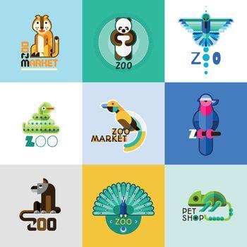 Zoo Logo Set