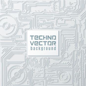 Circuit Vector Background