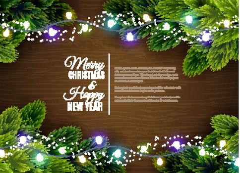 Christmas lights borger decoration season greetings