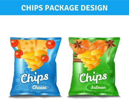 Chips Pack Design