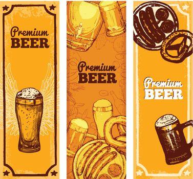 Beer Banner Vertical