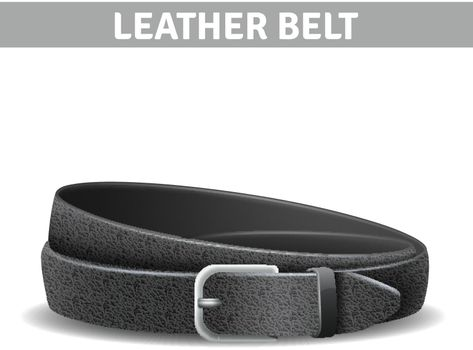 Leather Belt Illustration