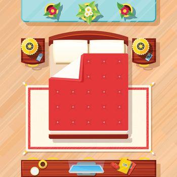 Bedroom Design Illustration