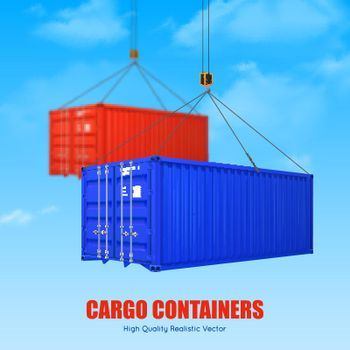 Cargo Container Poster