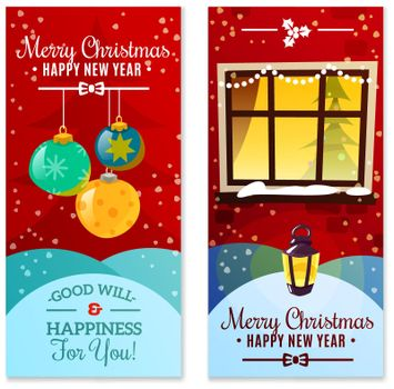 Christmas Vertical Banners