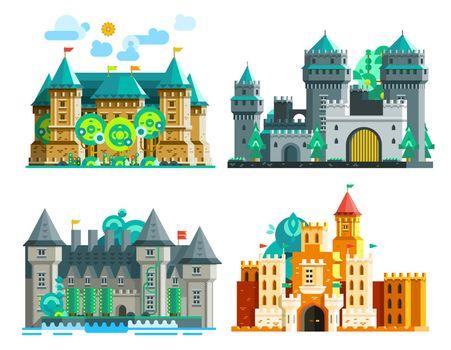 Colorful Castles Set