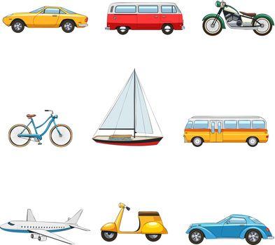 Comic Transport Set