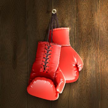Boxing Gloves On Wall