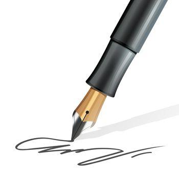 Fountain Pen Realistic