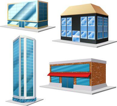Building decorative set