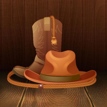 Cowboy symbol poster