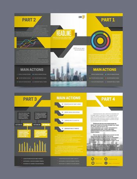 Company Report Flyer Templates