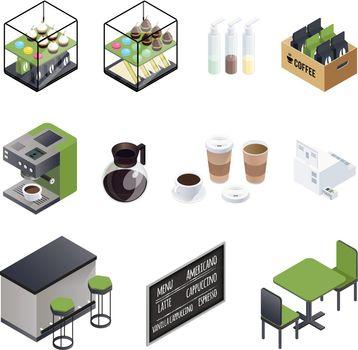 Coffee House Elements Set