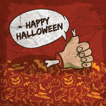 Creepy Halloween Poster