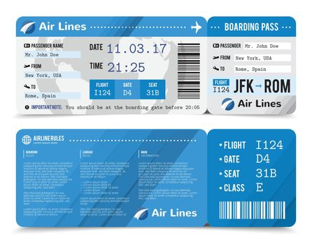 Boarding Pass Composition