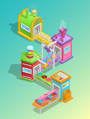 Confectionery Factory Concept
