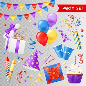 Party Transparent Set