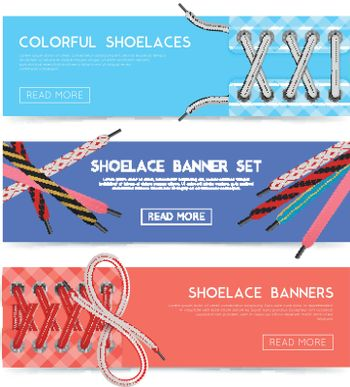 Lace Shoes Banners