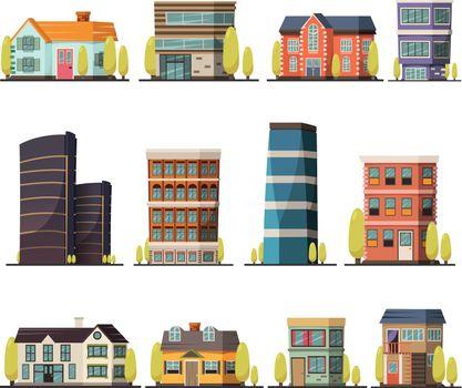 Living Buildings Orthogonal Set