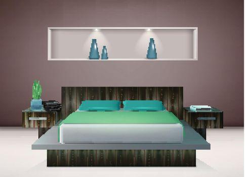 Bedroom Interior Realistic