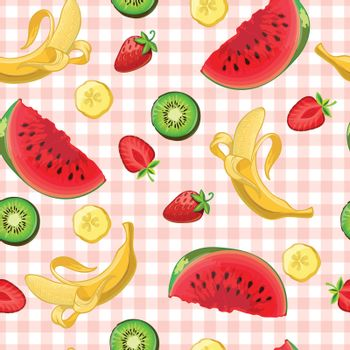 Delicious Fruits Pattern