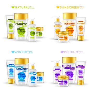 Cosmetic Series Packaging Design