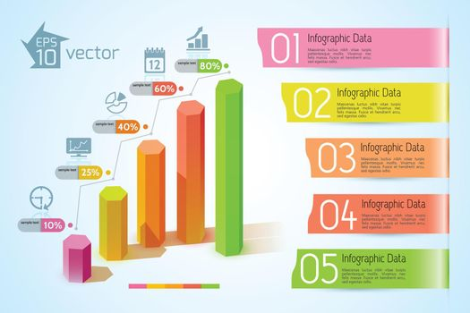 Business Charts Infographic Concept