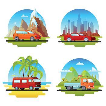 Colorful Cars Set