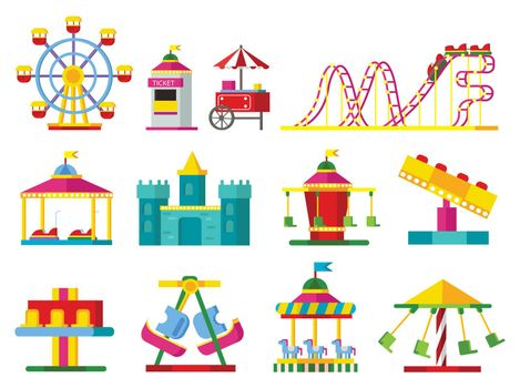 Colorful Attractions Collection