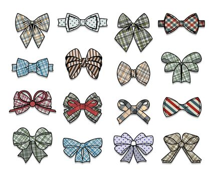 Colorful Elegant Bows Collection