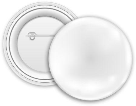 Blank button badge